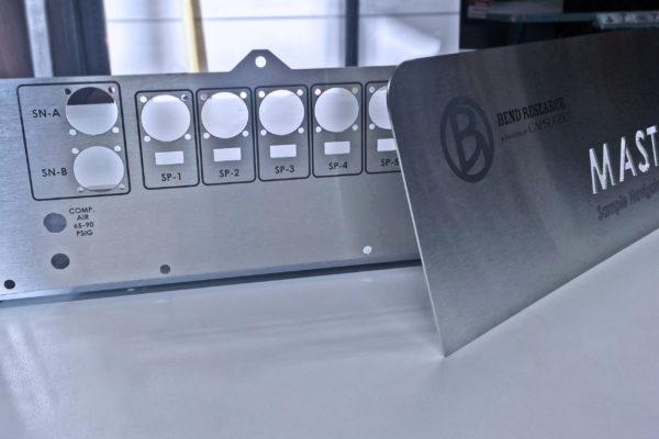 Screen Printed Industrial Panel